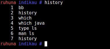 bash history