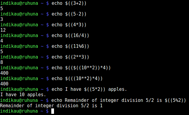 atithmetic-expansion